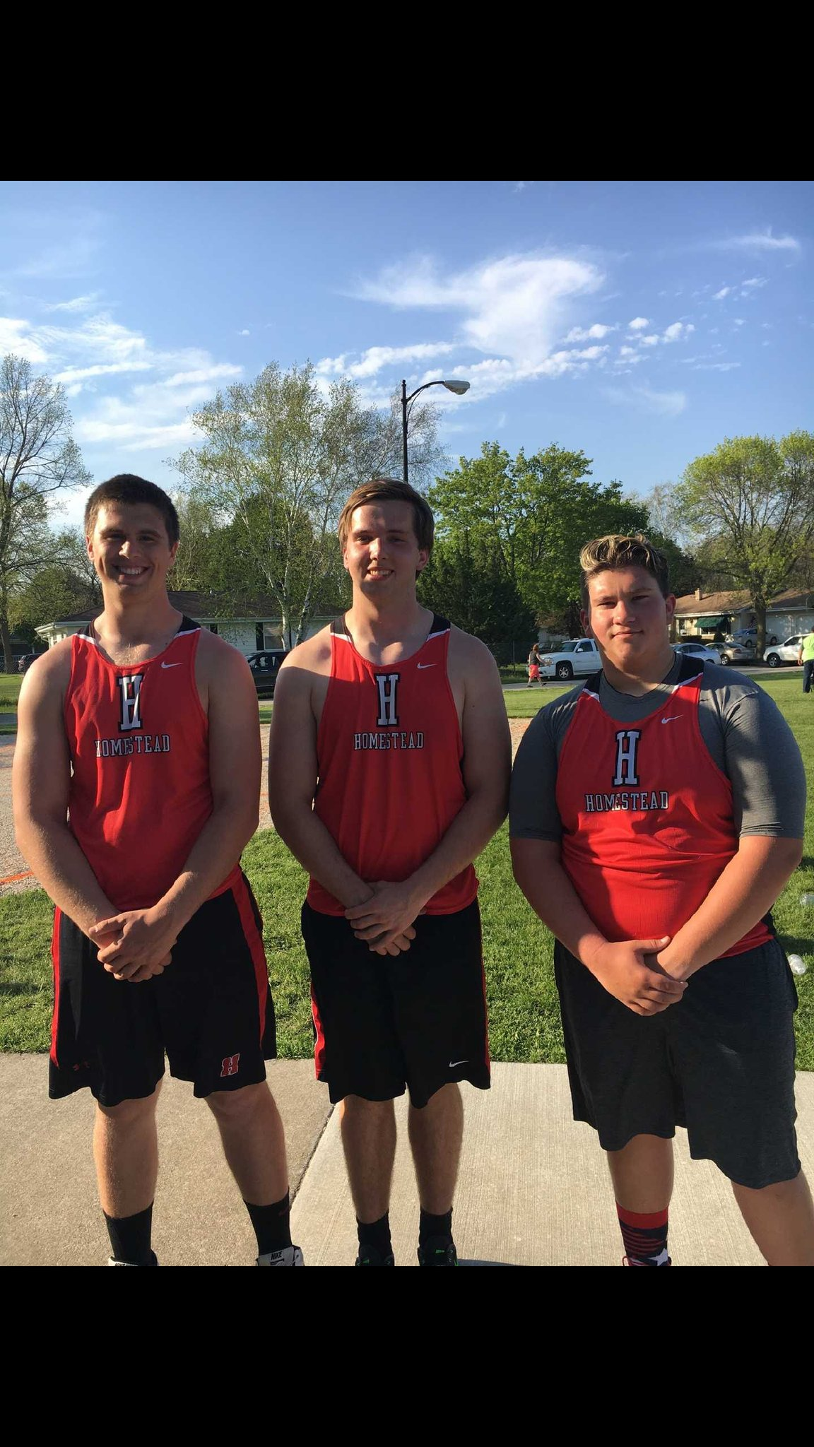 "NSC CHAMP!!  Shot Put. Senior Tim Rodd (center)  52'9"" https://t.co/TaKGAPhncT"