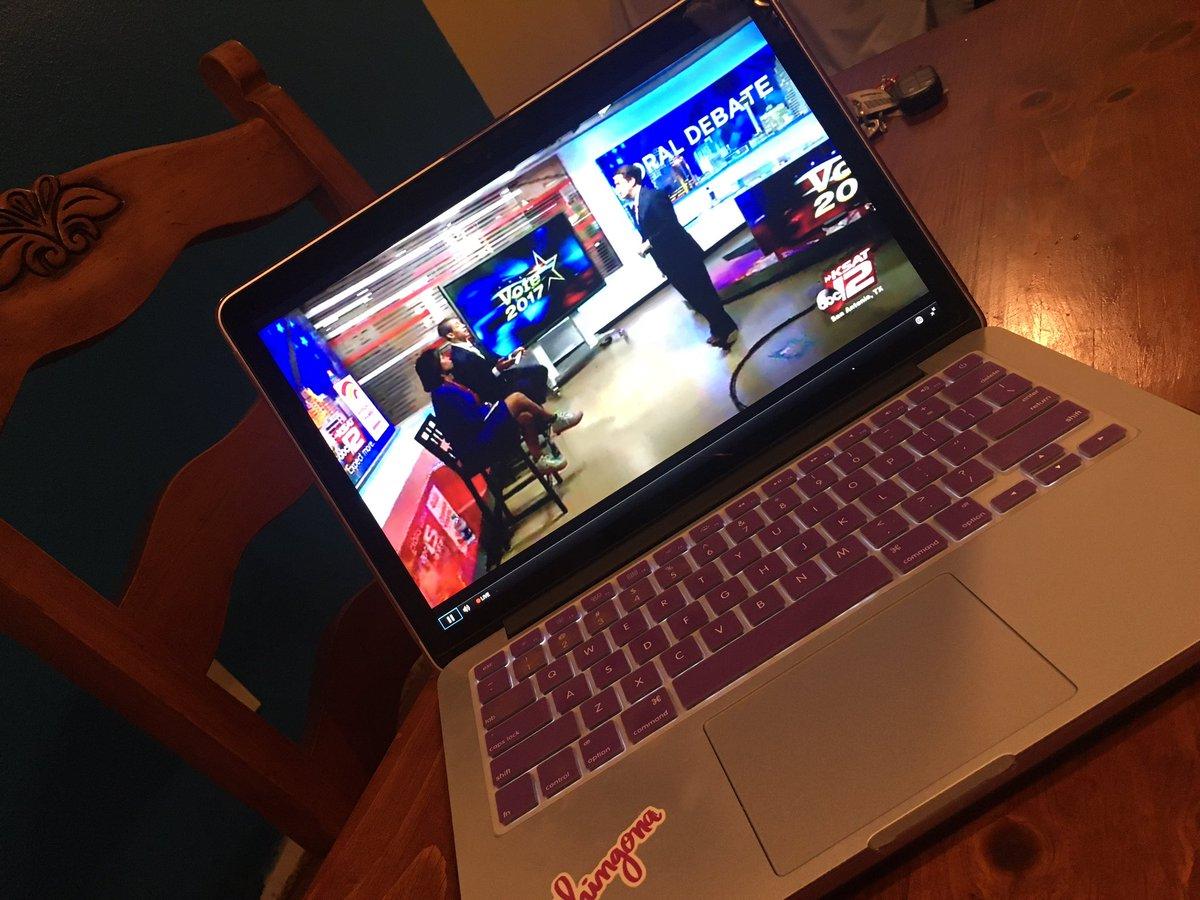 Watch the #SanAntonio Mayoral Debate on @ksatnews online. #runoff #election  http://www. ksat.com/live/livestrea m-san-antonio-mayoral-run-off-debate &nbsp; … <br>http://pic.twitter.com/7OTBsmXQbZ