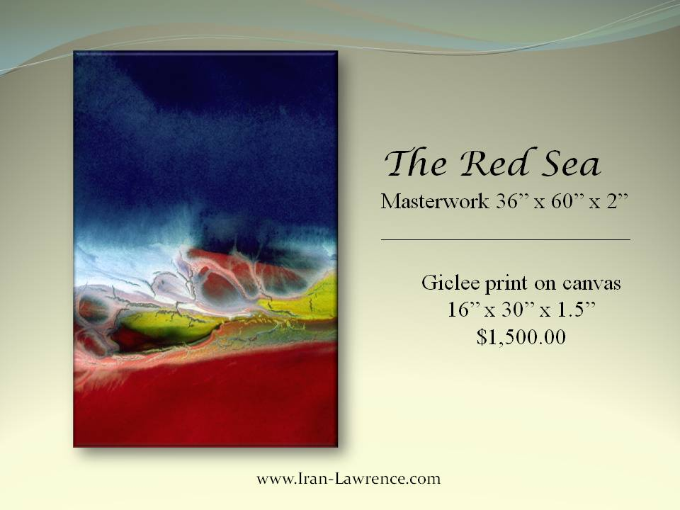 The Red Sea: #Giclee Print on #Canvas. <br>http://pic.twitter.com/IjOlSO6AnU