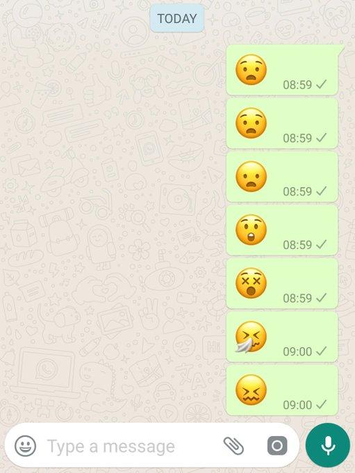 Emoji bersin