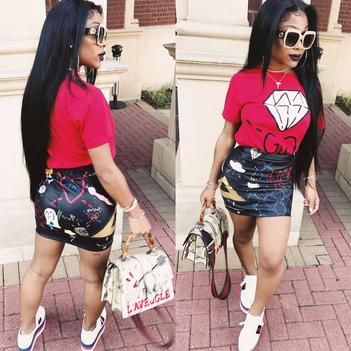 Amourjayda On Twitter Quot Life S Gucci🤷🏽 ♀️ Shirt Shoes Bag