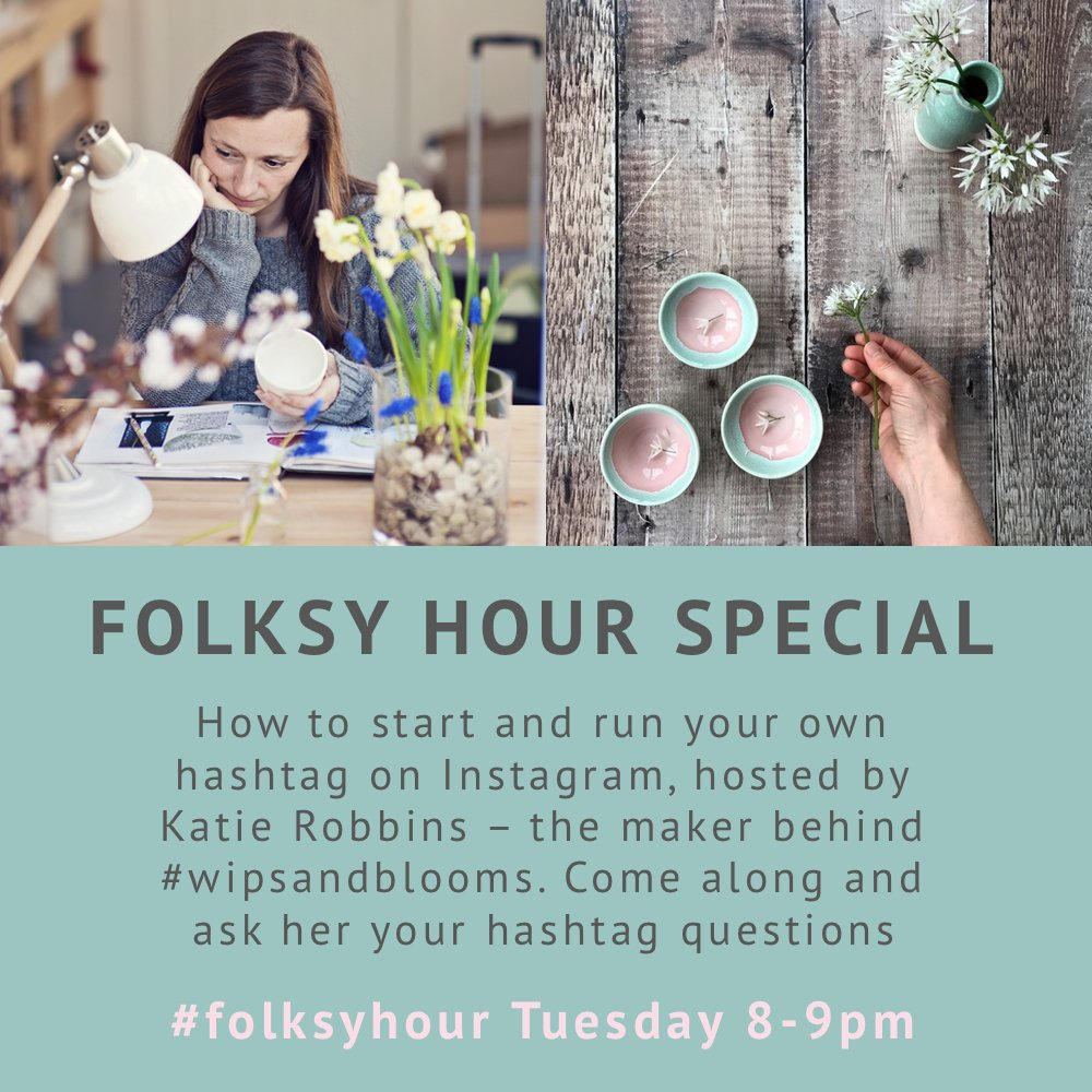 Are the children tucked up in bed? Are your #folksyhour fingers warmed up? Are your gifs at the ready? Have you got snacks close by? https://t.co/esZrvZiudB