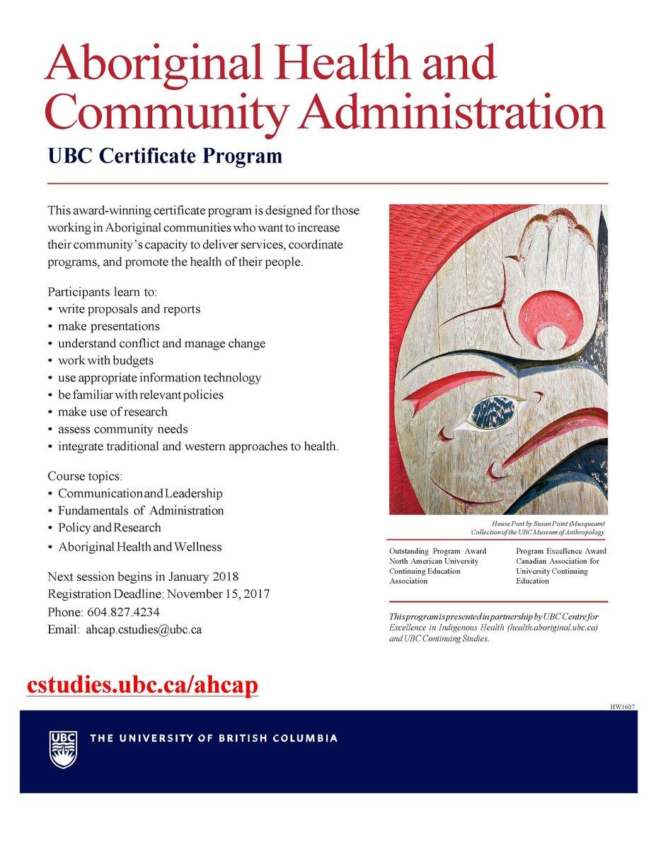 Chnook chnooknet twitter aboriginal health and community administration ubc certificate program application deadline november 15picitterkfpt00yf2i 1betcityfo Choice Image