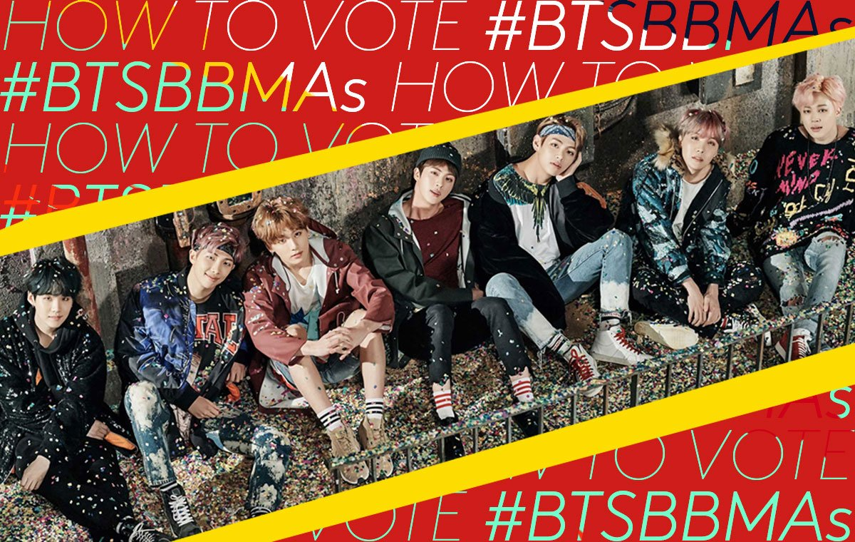 If you want @BTS_twt to win Top Social Artist at the #BBMAs... here's how to vote for them: https://t.co/YHNRE1gjFz ✨