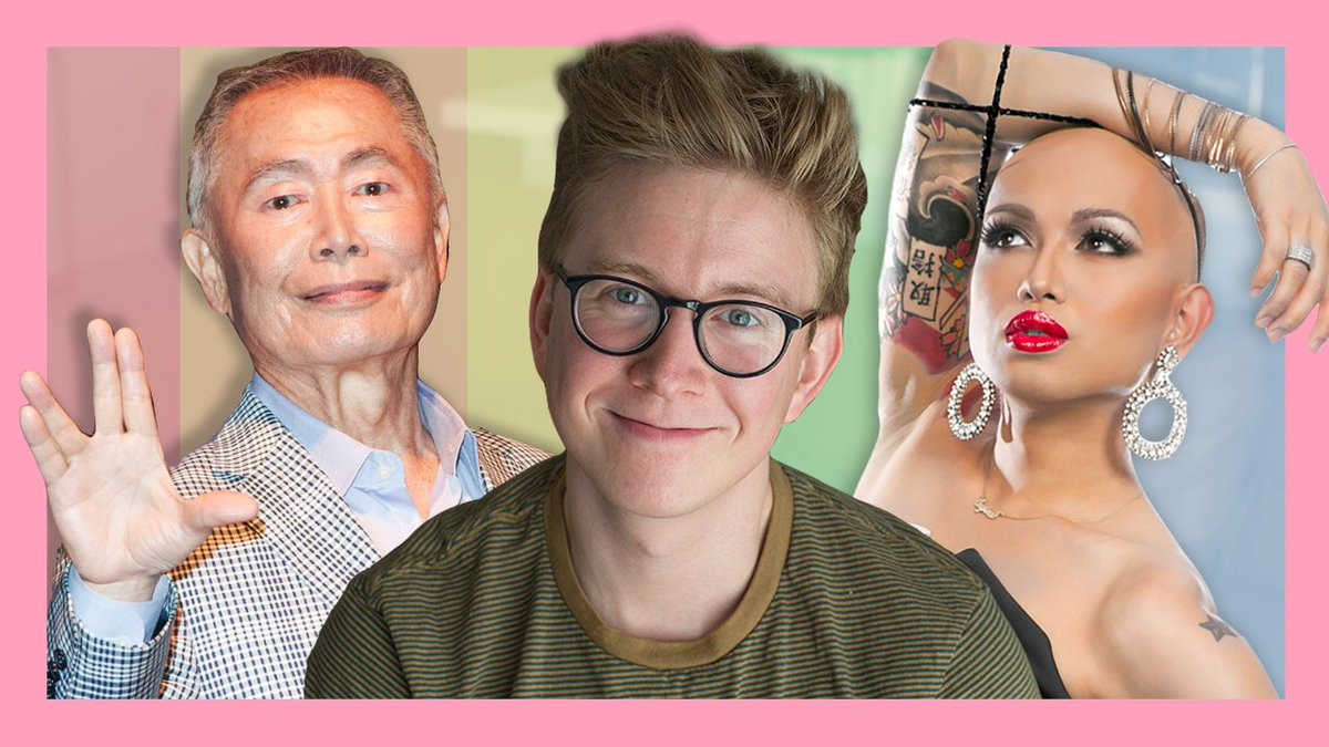 NEW VIDEO: '8 Asian American LGBTQ+ Trailblazers Who Inspire Me': https://t.co/oTDiMz6GRa (RT for a DM full of love!! 🏳️‍🌈)