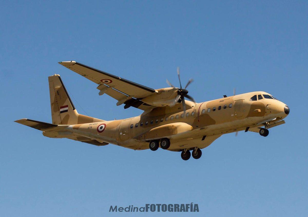 مصر تطلب ست طائرات عسكرية من طراز (ايرباص سي 295) منذ 54 دقيقة - صفحة 5 C_aS0R7XcAEHDnS