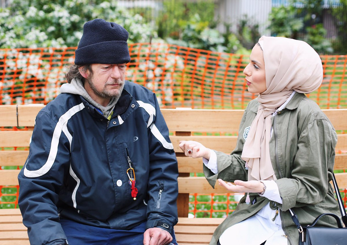 This American Muslim Lady Gave a Homeless Man a Job – Wonderful Story