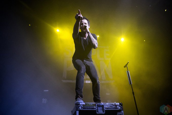 Happy birthday to Pierre Bouvier of Simple Plan!