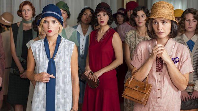 نيرڤانا Tren Twitter Las Chicas Del Cable مسلسل درامي اسباني عجيب من 8 حلقات للموسم الأول ماحسيت كيف الوقت مر الشخصيات بطلة