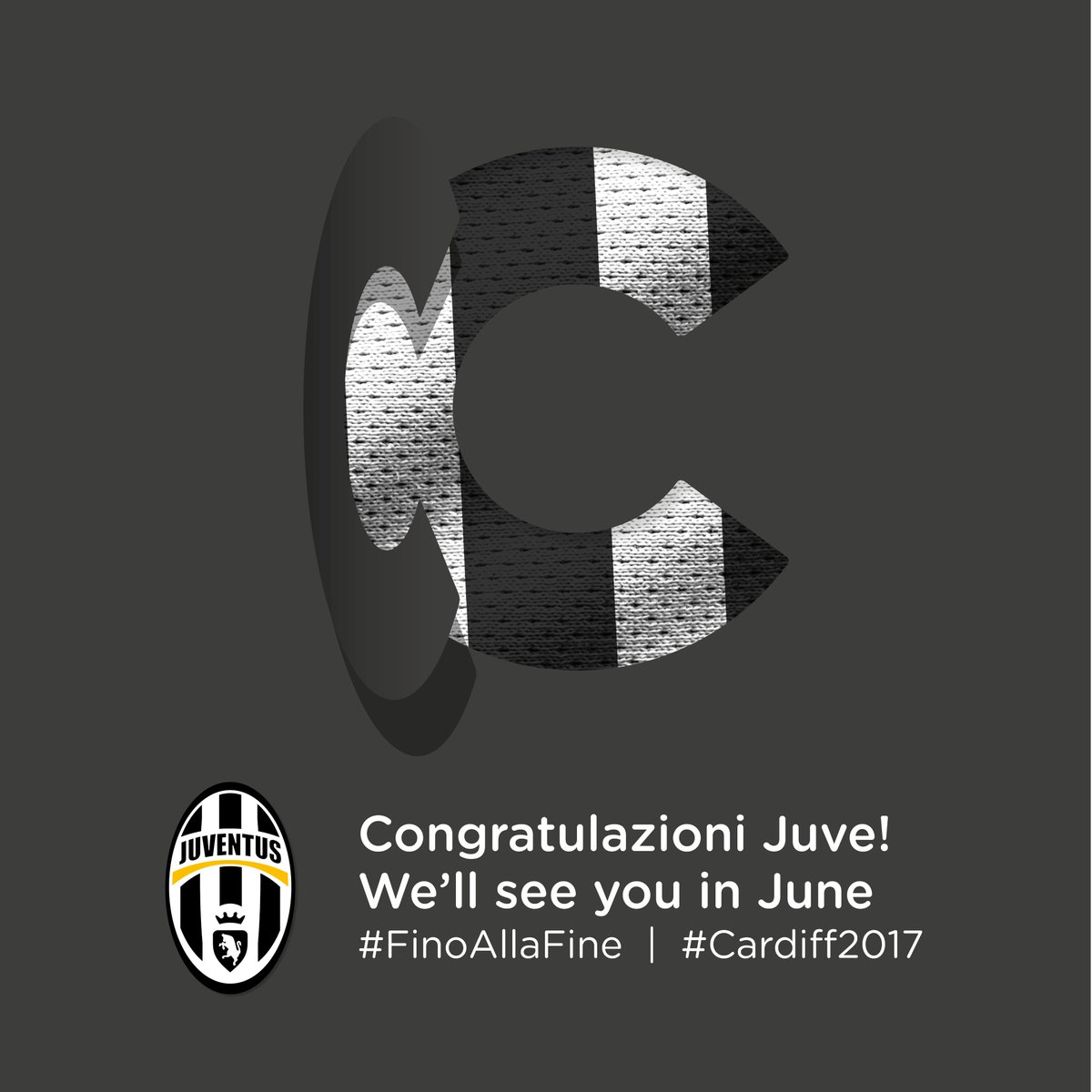 We'll see you in June @juventusfcen