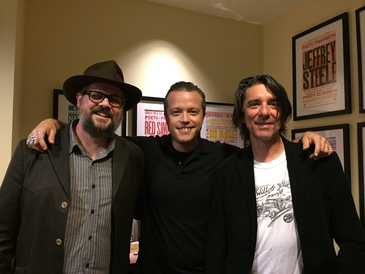 Thanks for the noms @AmericanaFest!  Great seeing you @JasonIsbell  #goodday