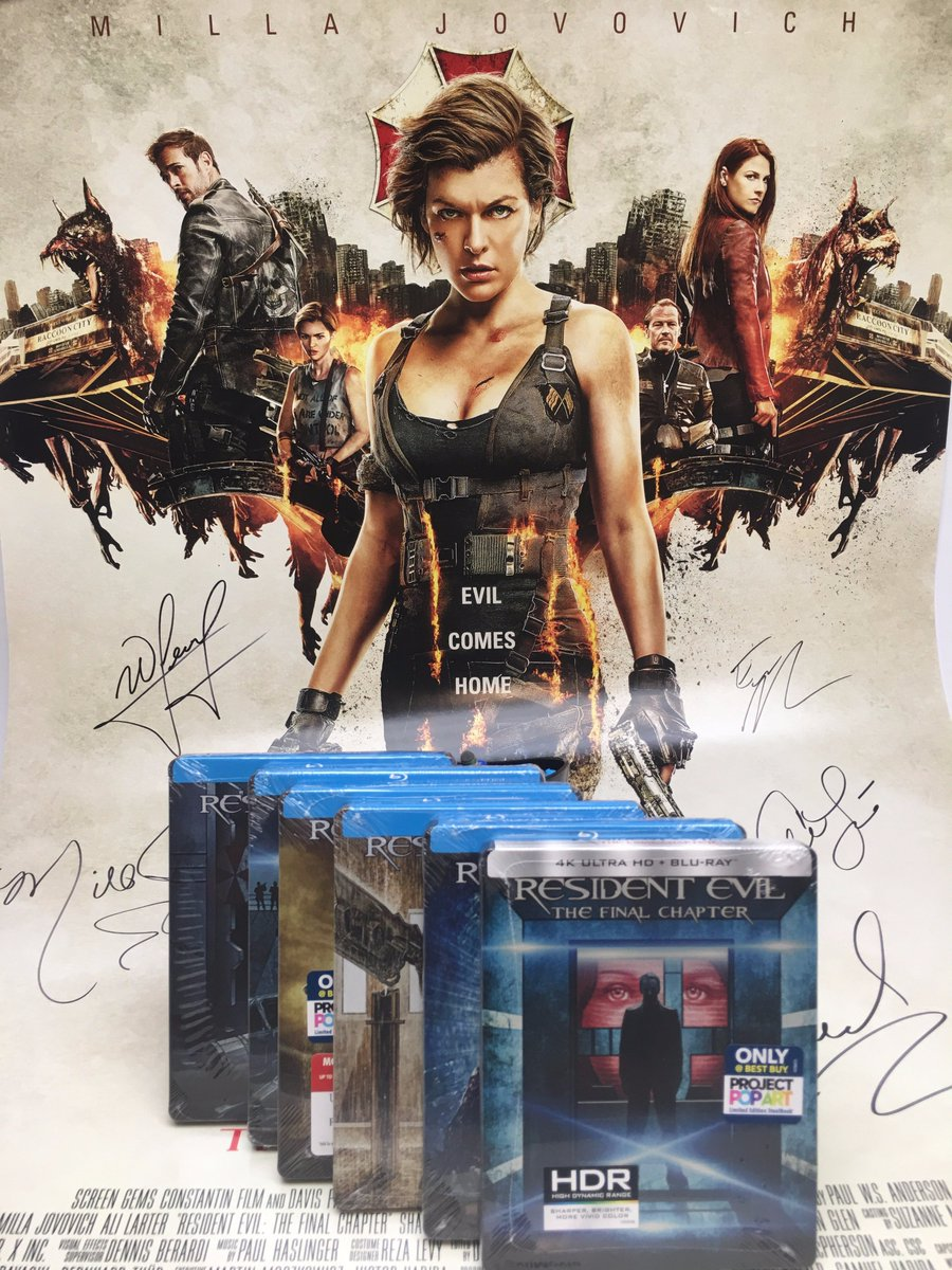 Resident Evil On Twitter Win A Autographed Resident Evil Final