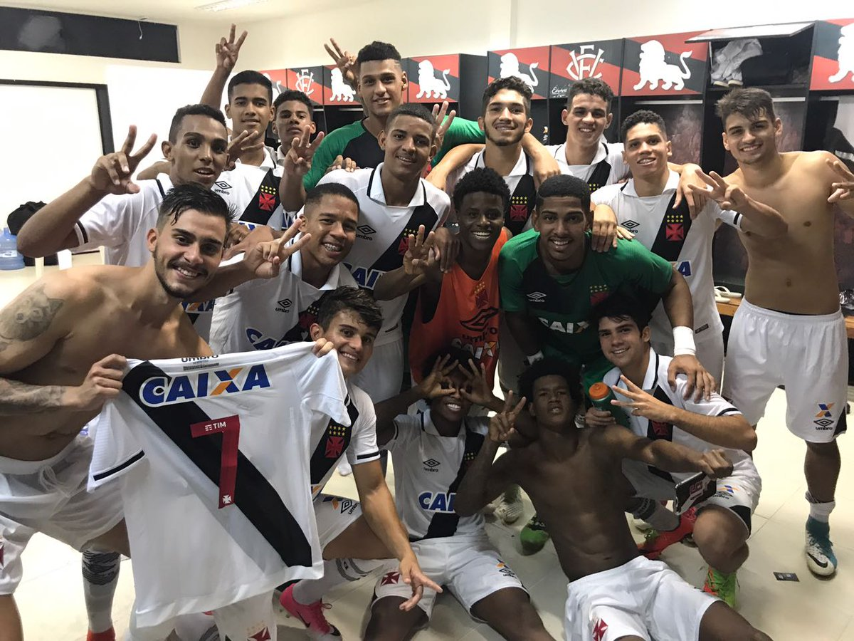 Classificados para a semifinal da #CopaDoBrasilSub20! #MeninosDaColina