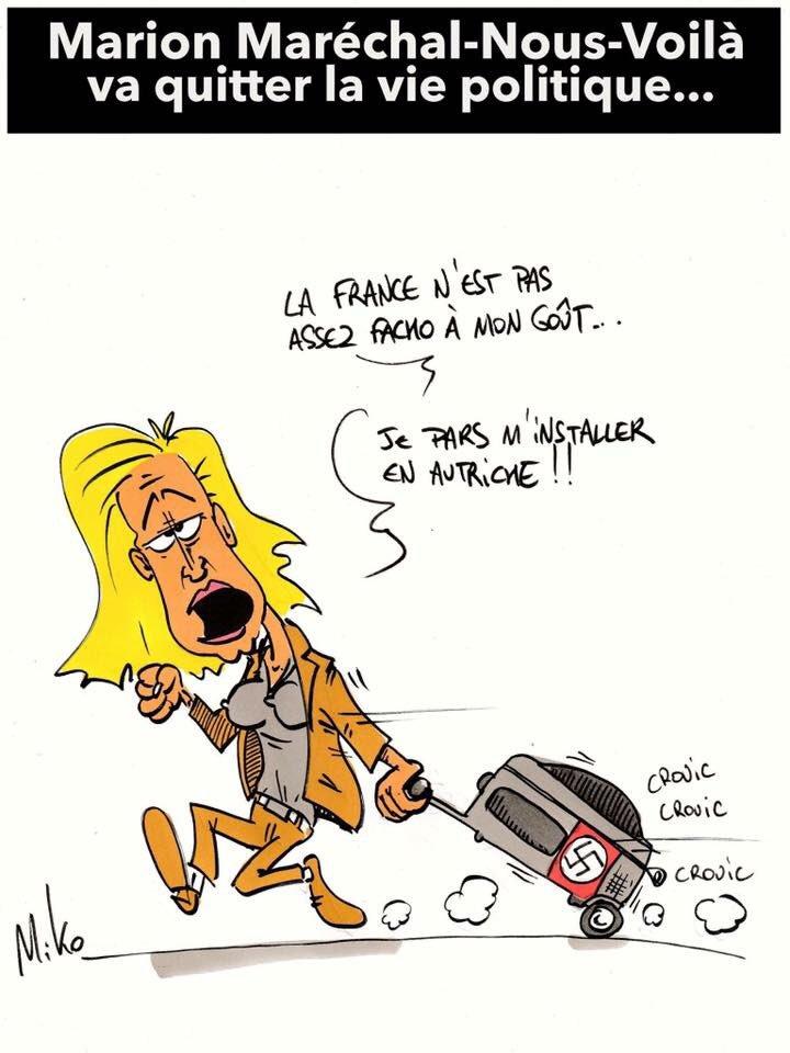#Marion_M_Le_Pen se casse ... #FHaine <br>http://pic.twitter.com/cCRPFH0vgC
