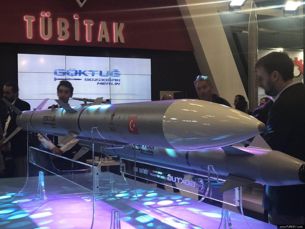 تركيا ستكشف عن صاروخين جو-جو يعملان على متن مقاتله F-16  C_amUmeXkAEJuqJ