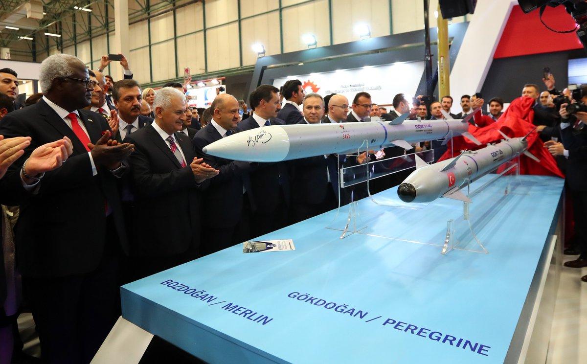 تركيا ستكشف عن صاروخين جو-جو يعملان على متن مقاتله F-16  C_amVaIXcAQ_TIj