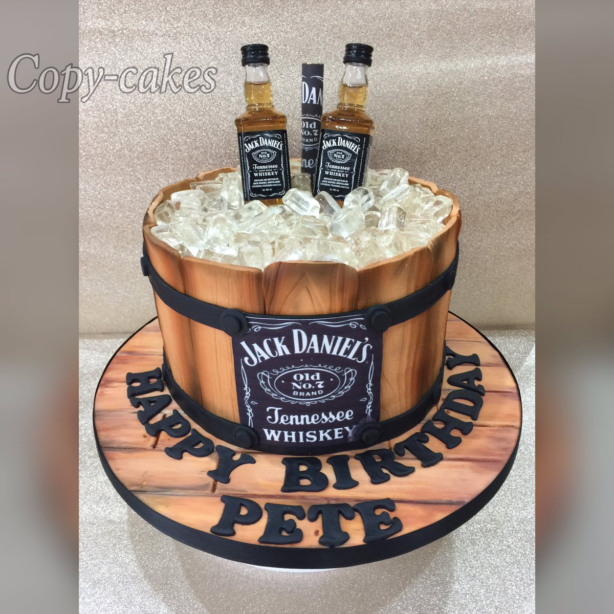 Wendy Brookes Cakedesign On Twitter Jackdaniels Barrel Cake Dukinfield Cheshire Birthday