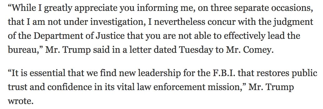 WikiLeaks on Twitter Full text of AG Jeff Sessions – Letter of Firing
