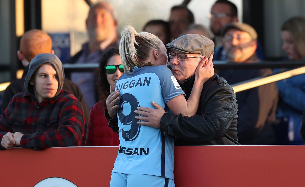 When your grandad drives all the way from Liverpool to Bristol to surprise you - and then you score a hat-trick