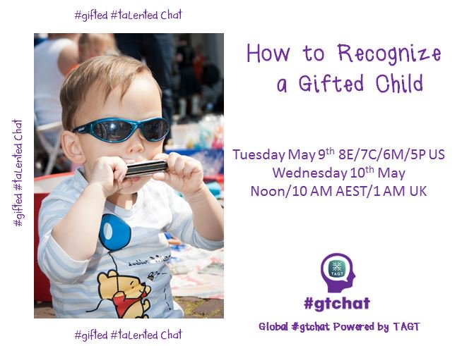 """T-10 till #gtchat - Today we'll be chatting about """"How to Recognize a Gifted Child"""" https://t.co/97aFo8Q9Pg"""