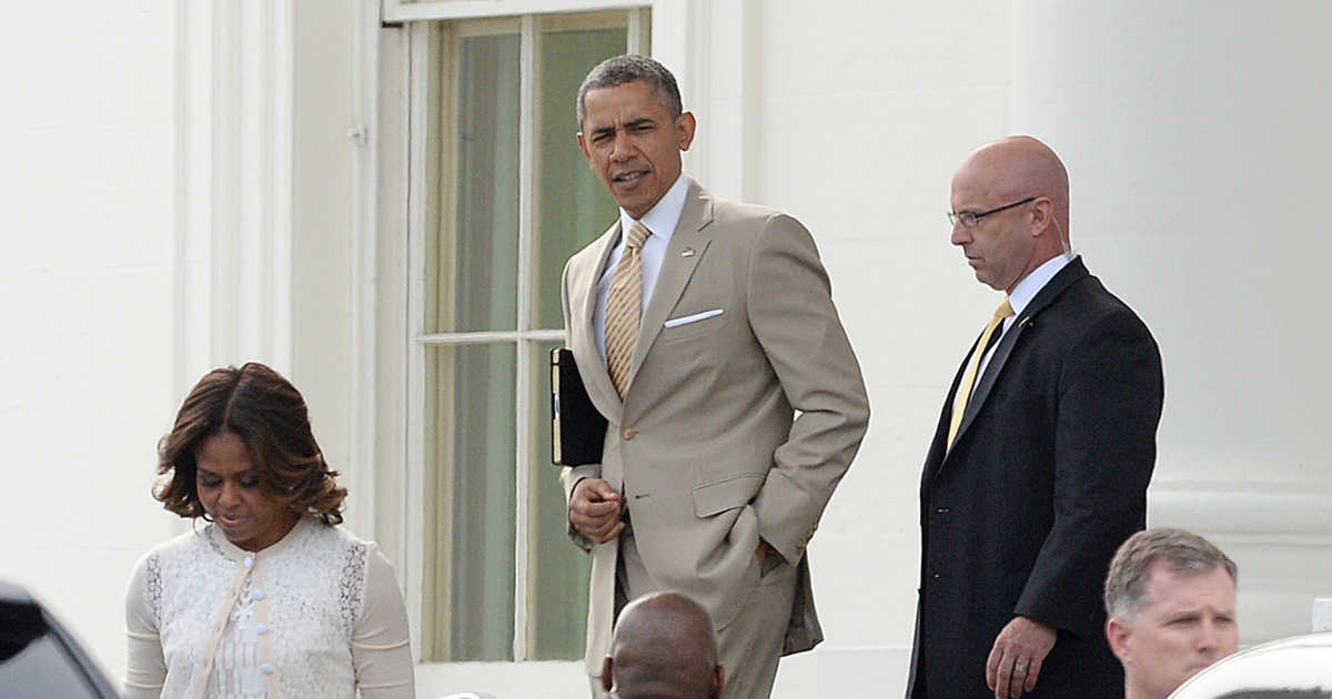 I miss the days when the biggest presidential scandal was that time Obama wore a tan suit