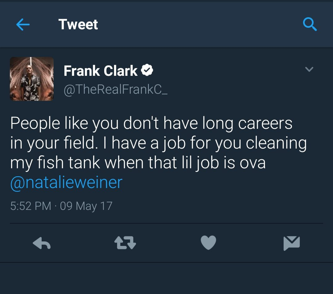Seahawks meet with Frank Clark after comments he made on Twitter