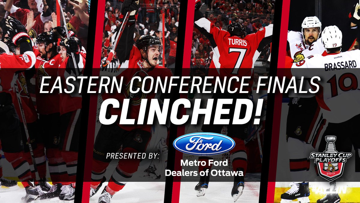 THE #SENS ARE HEADED TO EASTERN CONFERENCE FINALS! #ALLIN https://t.co/luDSlLkyc3