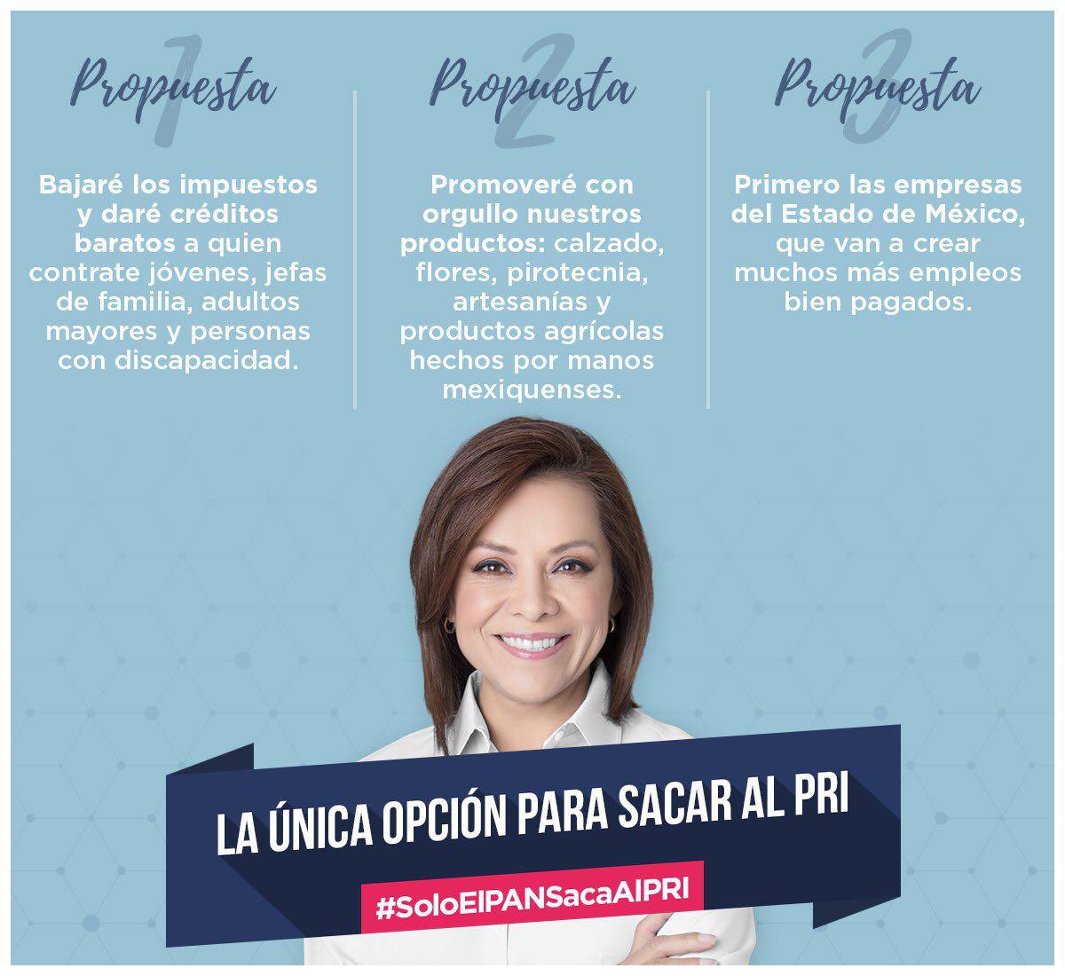 #JosefinaGobernadora #VotaPAN #4dejunio @JosefinaVM la única opción #EleccionesEdomex #debateedomex https://t.co/lfqrGLXaE7