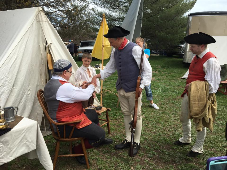 The 2nd Mass Flying Hospital was demonstrating smallpox inoculations at Gore Place. We hope you had a chance to attend and have fun too.
