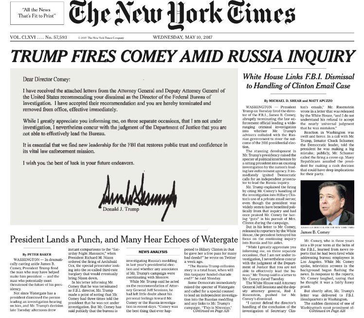 Image result for 2017 trump headlines