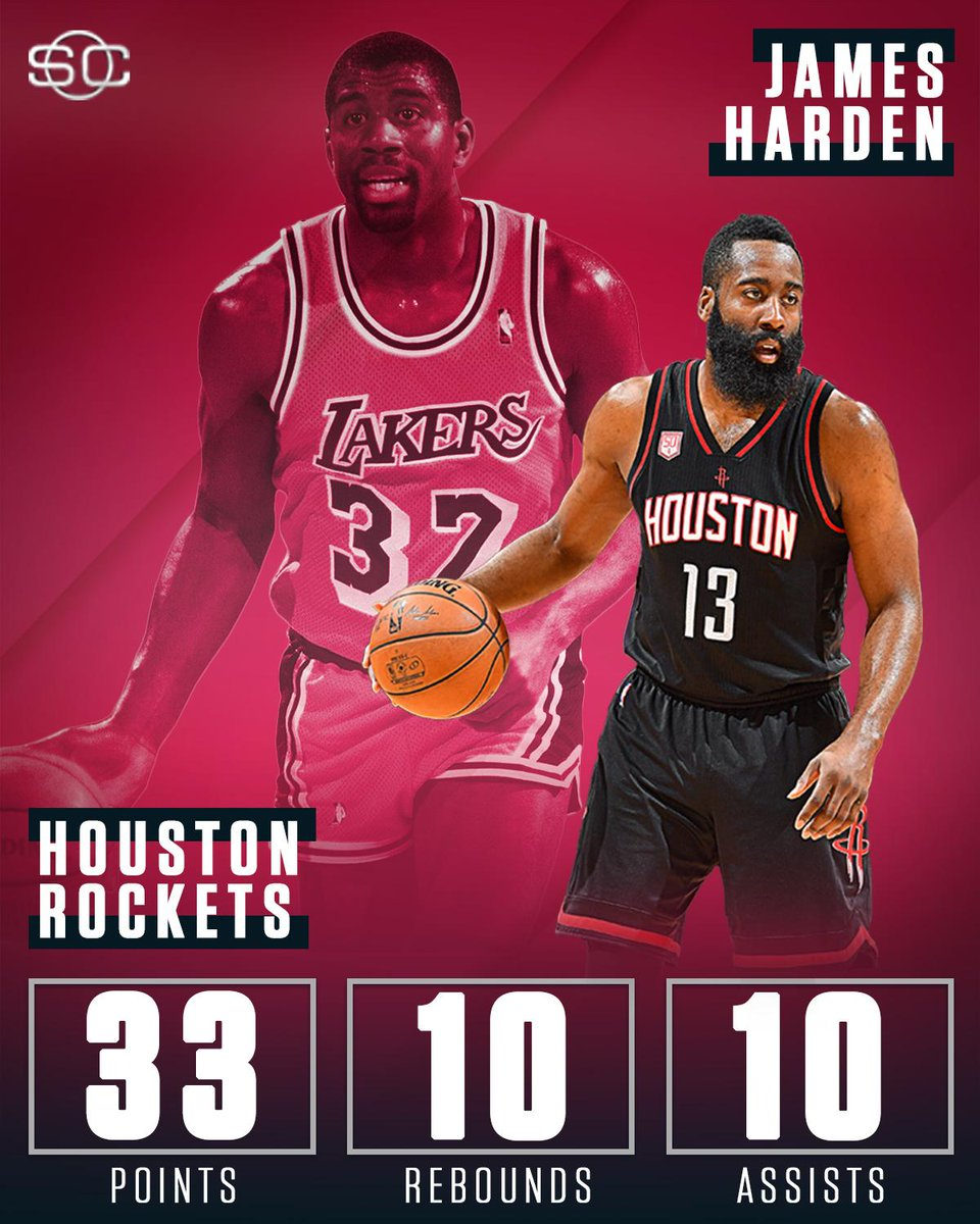 James Harden Nba Records: James Harden Joins Magic Johnson As The Only Players With