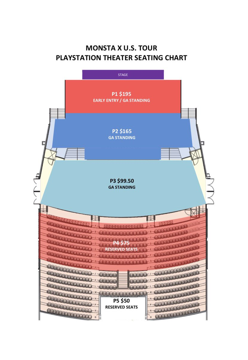 Powerhouse Live On Twitter Seating For La Sf Ny For Monsta Xs