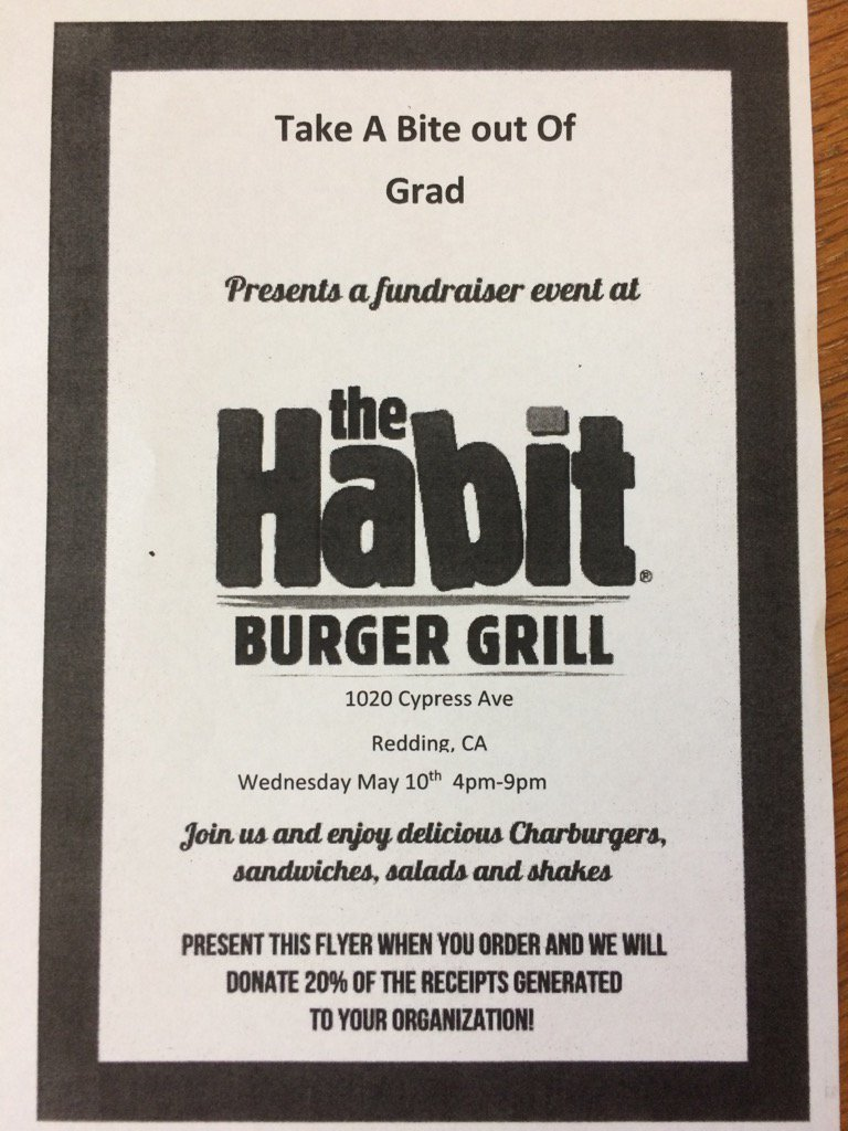 Support @JuniperRSD 8th graduation by eating @ The Habit, Wed, May 10, 4-9 pm. Show flyer w/your order#excellenforall