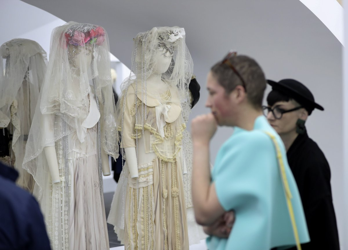China Xinhua News On Twitter Costume Institute S Spring 2017 Exhibition At Metmuseum Examines Work Of Fashion Designer Rei Kawakubo Known For Her Avant Garde Designs Https T Co Gvsmxzluks