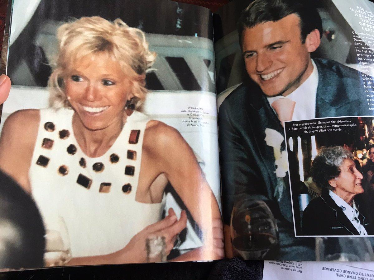 Emmanuel Macron Wedding.Eleanor Beardsley On Twitter Paris Match Full Of Great Pics Of New