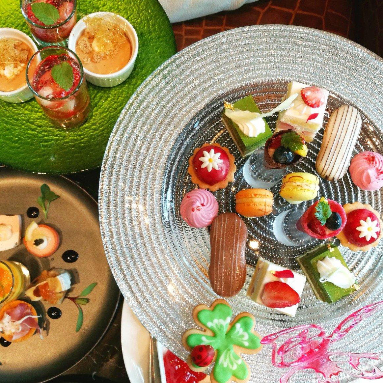 good afternoon tea #ザプリンスギャラリー東京紀尾井町  #レヴィータ #紀尾井町アフタヌーンティーpic.twitter.com/Xb6PYGWYXS