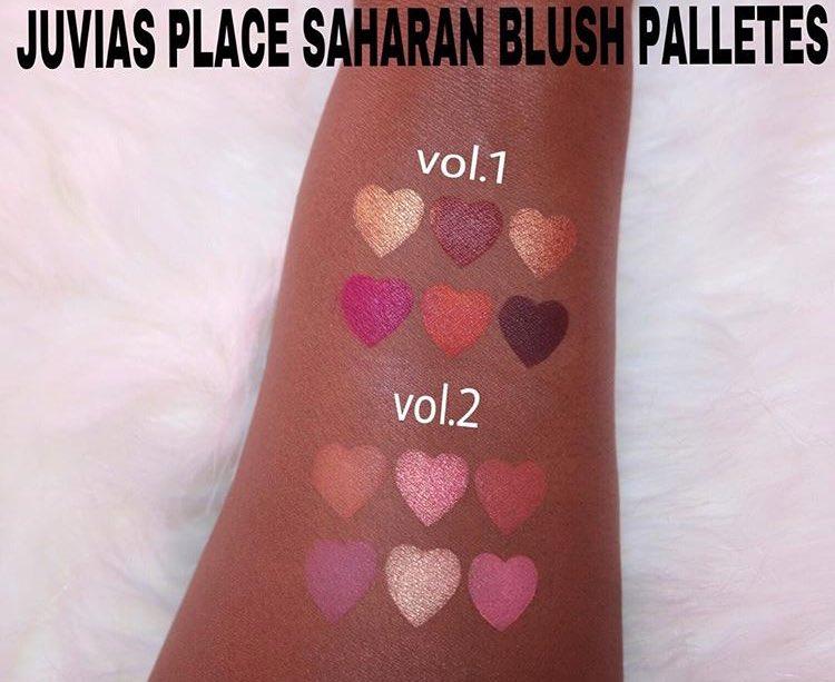 The Saharan Blush Vol. I Blush Palette by Juvia's Place #19