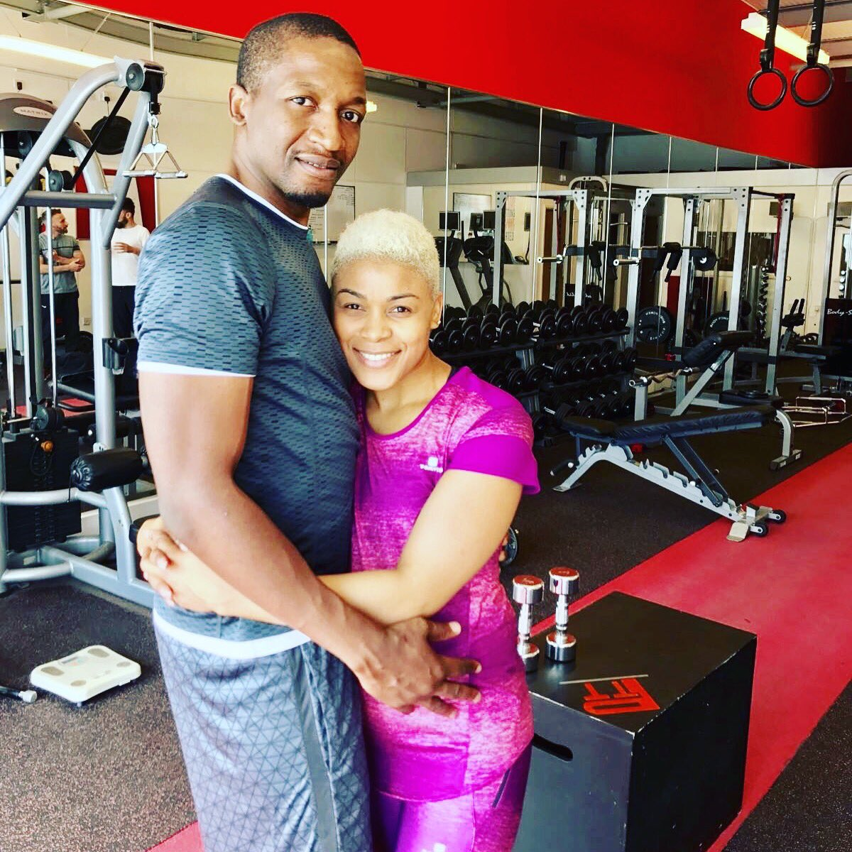 If you GYM together & PRAY together YOU will always SMILE together. #GoodNewsMarriage