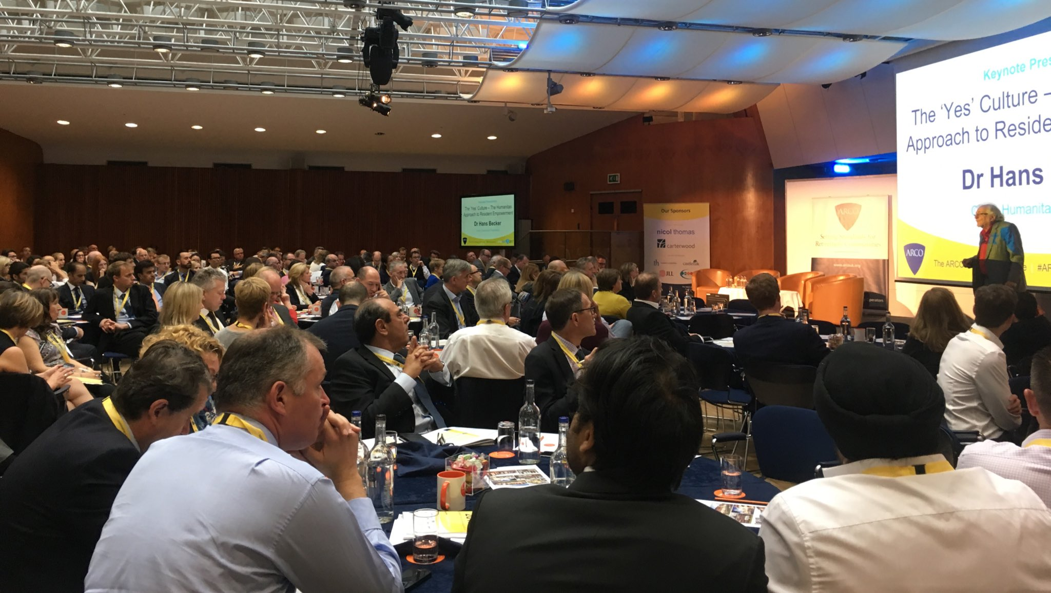 Great turnout for the @ARCOtweets conference. Looking forward to some interesting sessions. https://t.co/LMswd45jbF