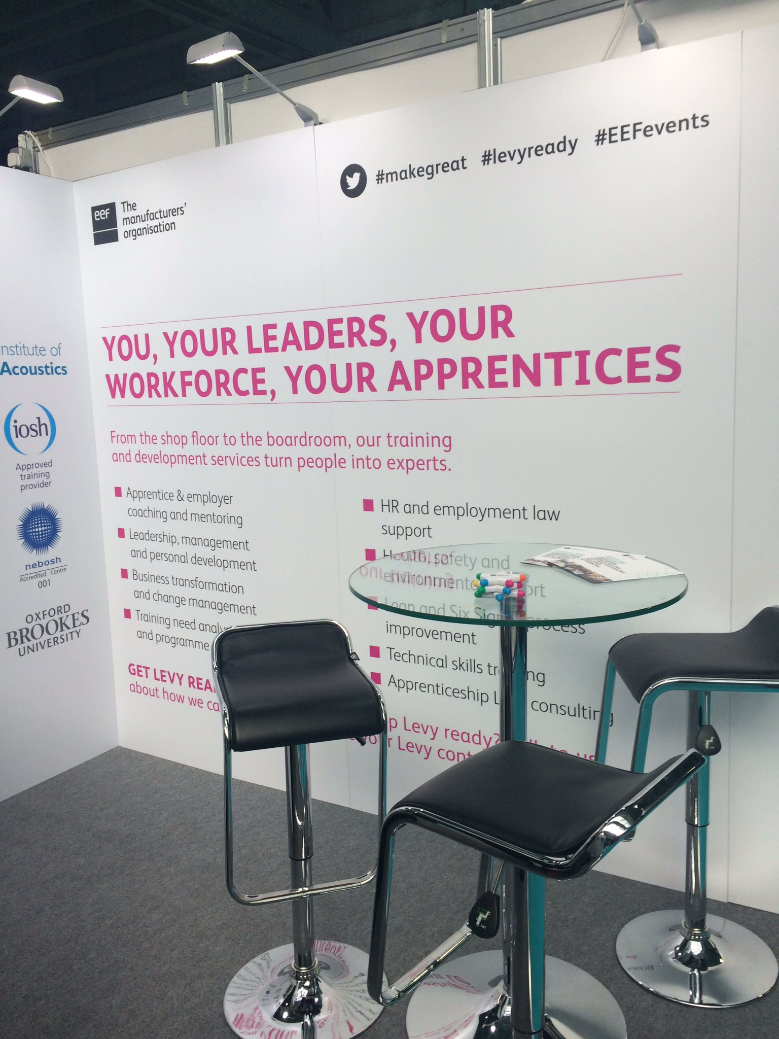 At the #cipdldshow today, come to stand 370 and find out how you can use your apprenticeship levy for upskilling https://t.co/NEDIrS3JVC