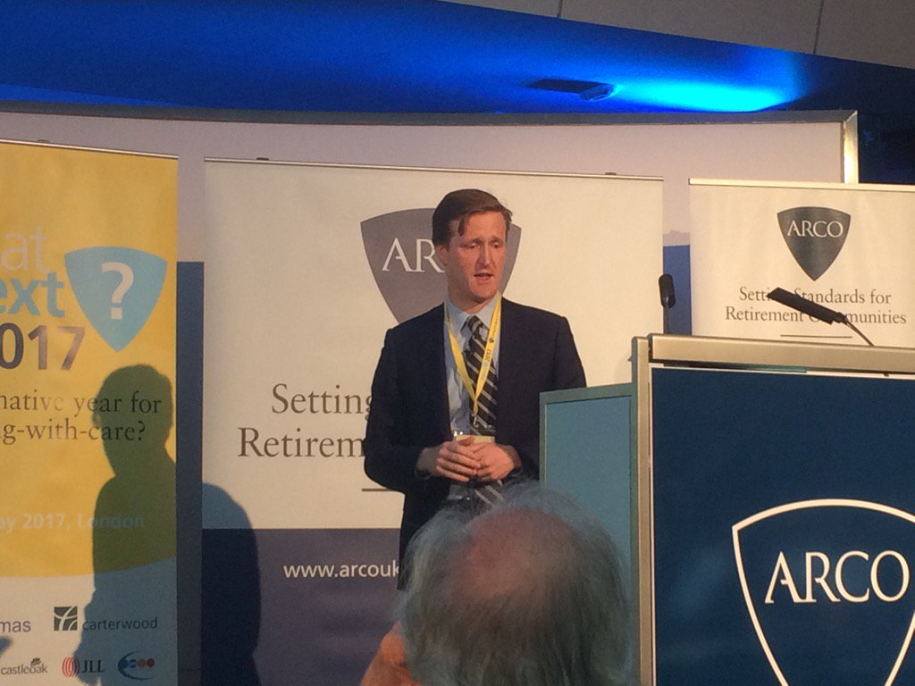 Thankyou Michael Voges @ARCOtweets for creating a voice for retirement living sector & inspiring conf #ARCOwhatnext https://t.co/zJaB6GKTu4