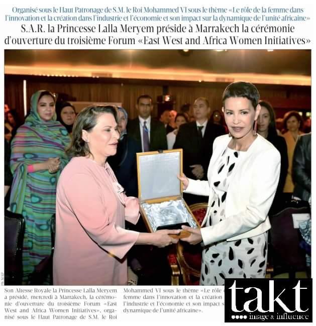 #Marrakech : 3ème #Forum 'Initiatives féminines entre l'Orient, l'Occident et l'Afrique'. #ewa #bpw #taktEnAction