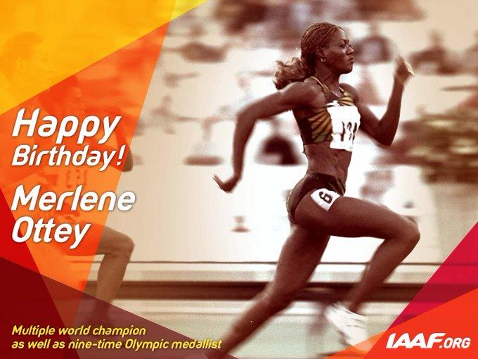 Happy birthday to Merlene Ottey!