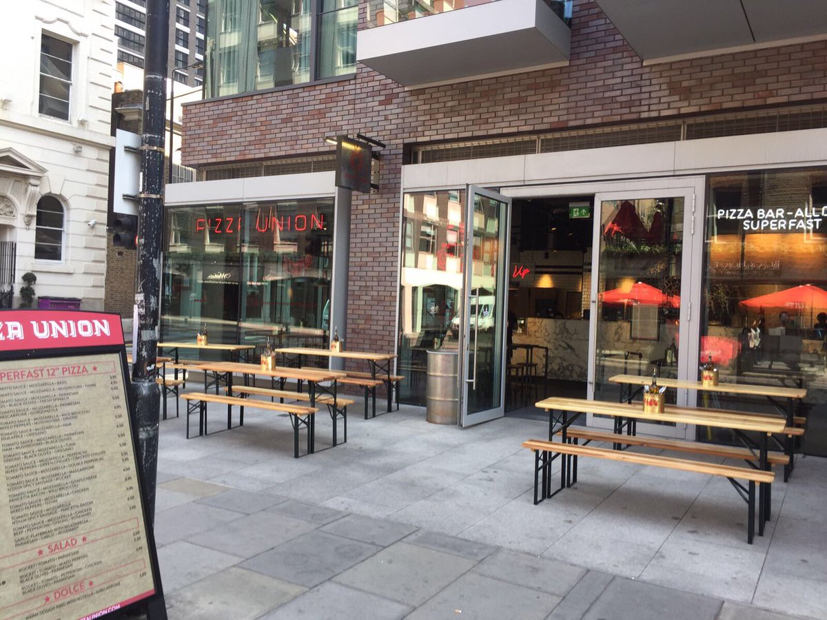 Pizza Union On Twitter Aldgate East We Are Open