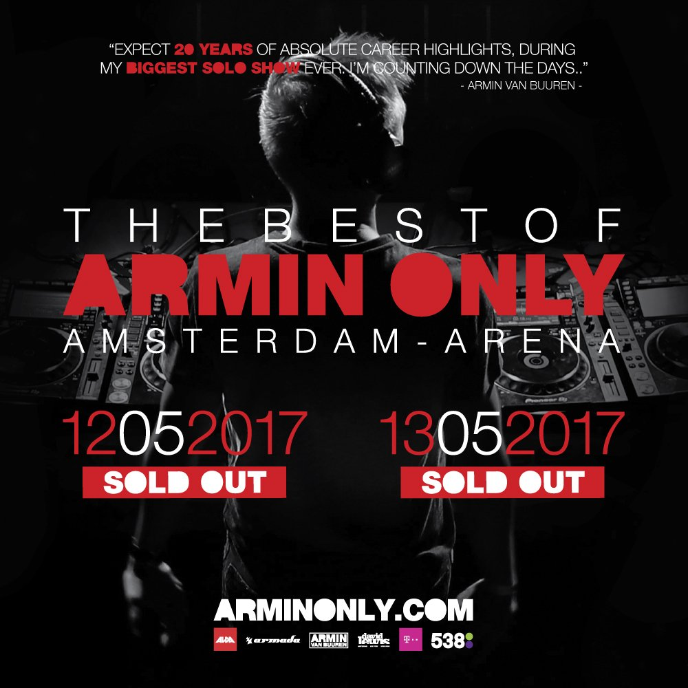 THIS. IS. AMAZING! This weekend, we're doing not one, but two sold out shows in the Amsterdam ArenA!