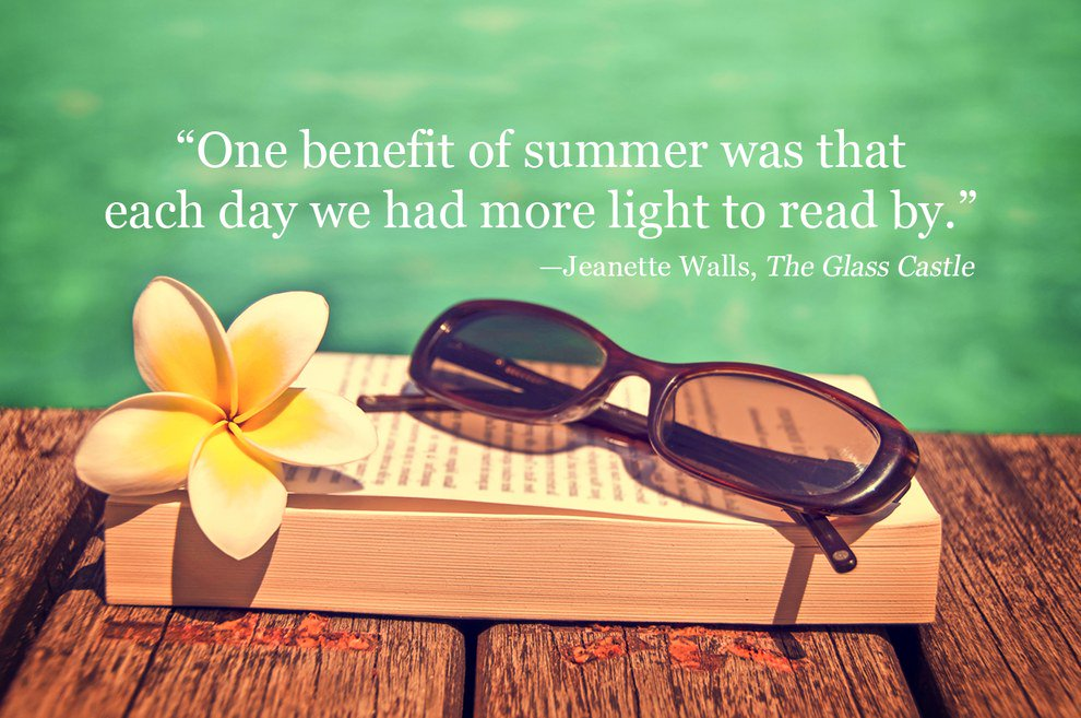 """Read by 4th on Twitter: """"""""One benefit of summer was that each day ..."""
