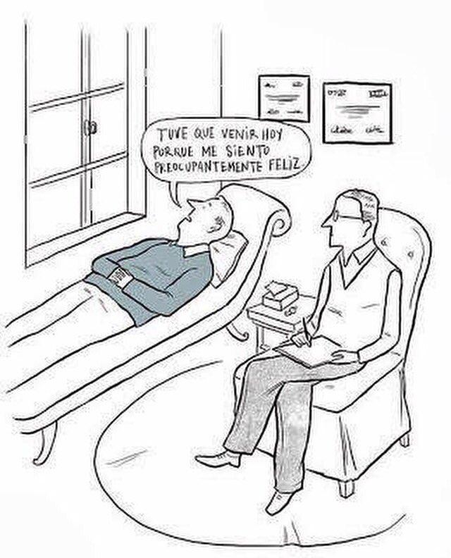 Preocupadamente feliz... #Psicología