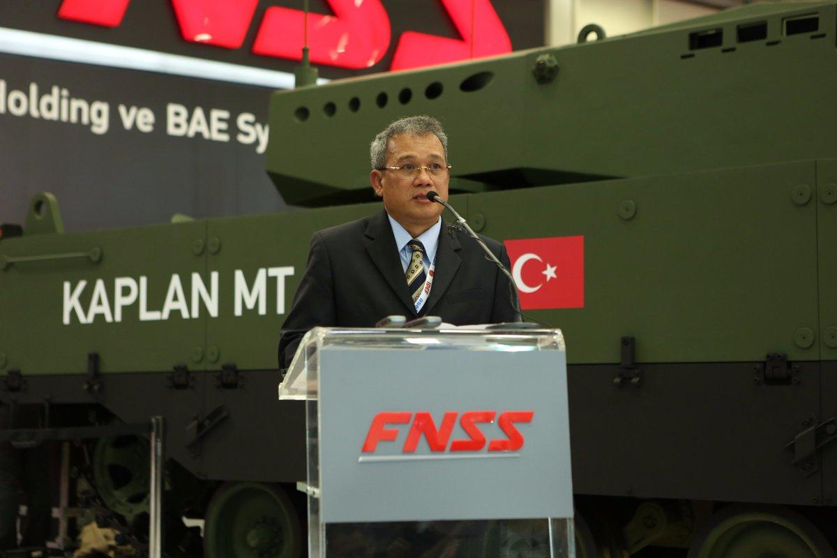 تركيا تكشف عن الدبابه Kaplan MT لأول مرة خلال معرض إسطنبول للصناعات الدفاعية C_dtlrnXcAAAR0D