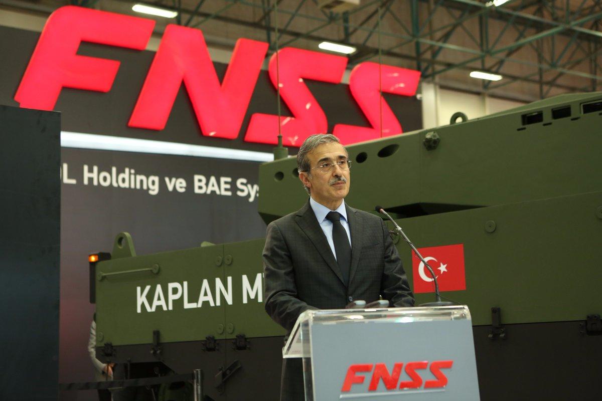 تركيا تكشف عن الدبابه Kaplan MT لأول مرة خلال معرض إسطنبول للصناعات الدفاعية C_dvFsvXcAAOJlQ