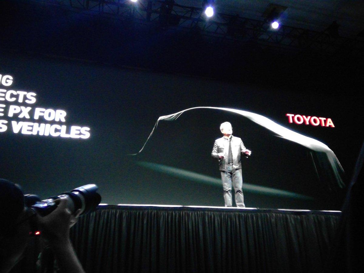 トヨタがNVIDIAと組んで自動運転車を開発! https://t.co/v1mRukflu3